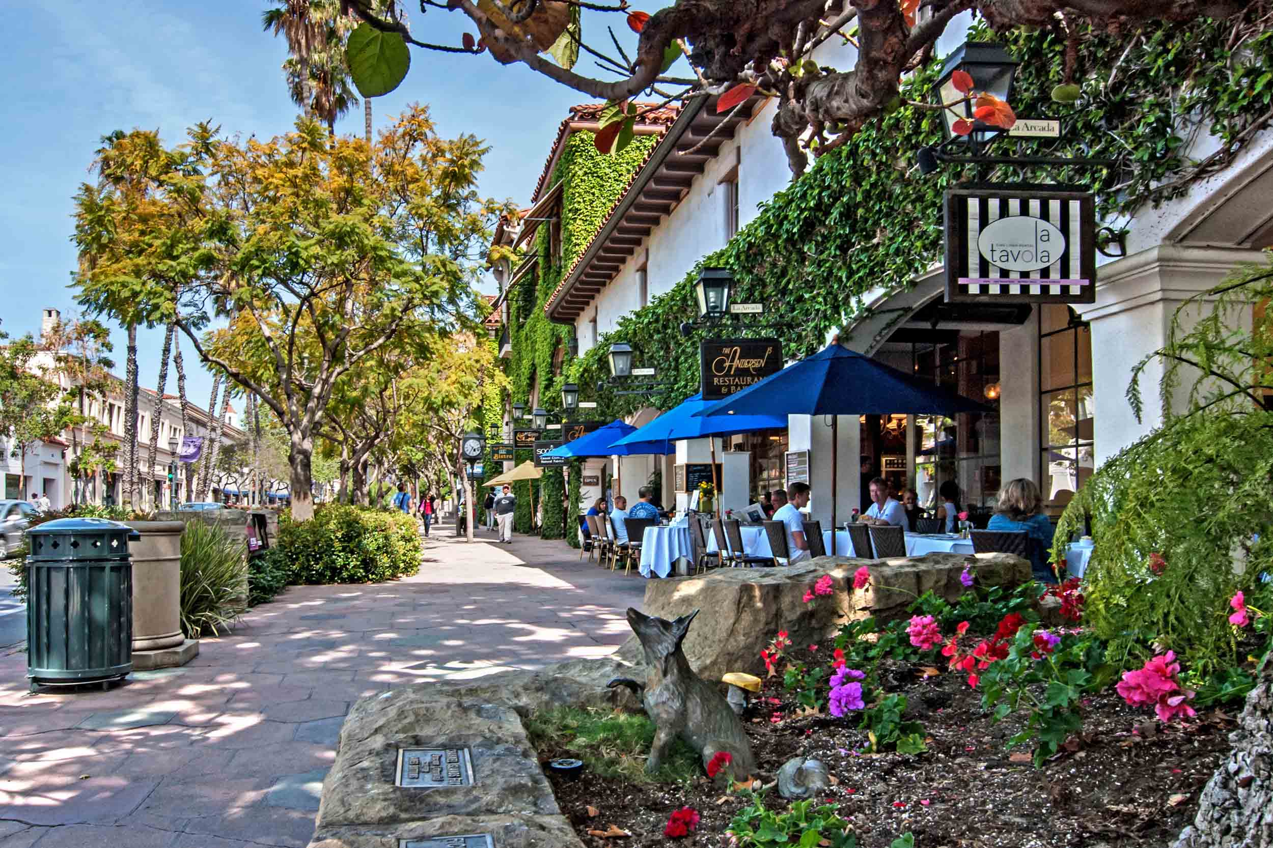 Downtown Santa Barbara – Santa Barbara Tourist Attractions Map