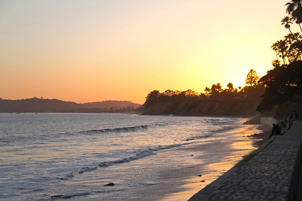 Butterfly Beach Sunset