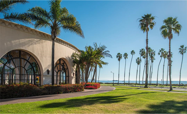The postcard perfect views at The Fess Parker: A Doubletree Resort by Hilton.